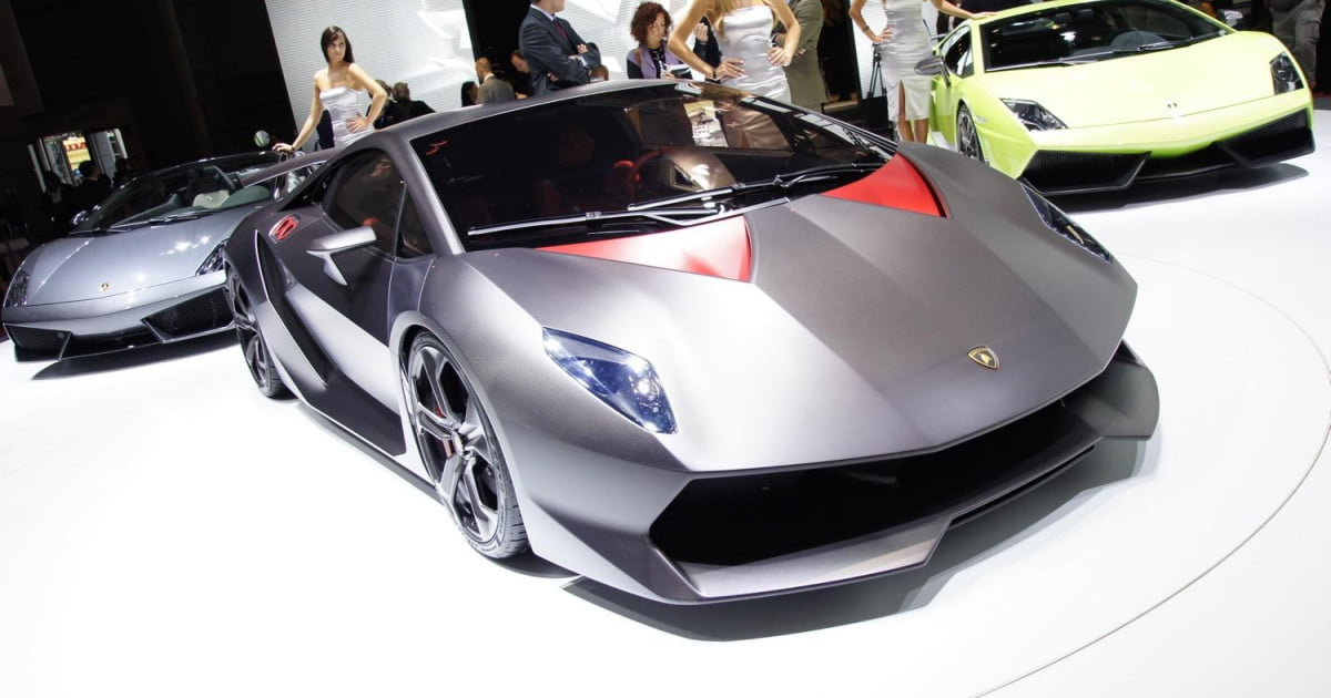 Ultra Light Lamborghini Sesto Elemento Is Yours For 3 Million