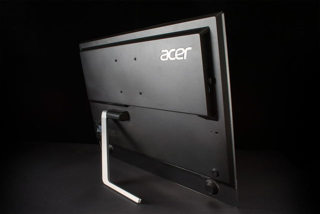 Acer TA272HUL review rear angle
