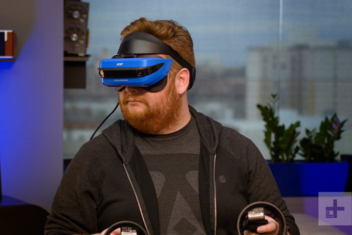 Acer Windows Mixed Reality Headset review lifestyle hero