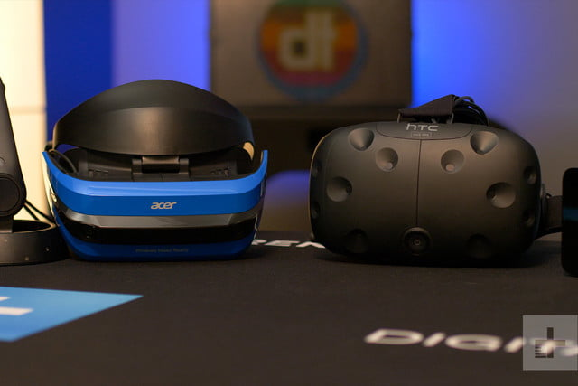 Acer Windows Mixed Reality Headset review vive comparison