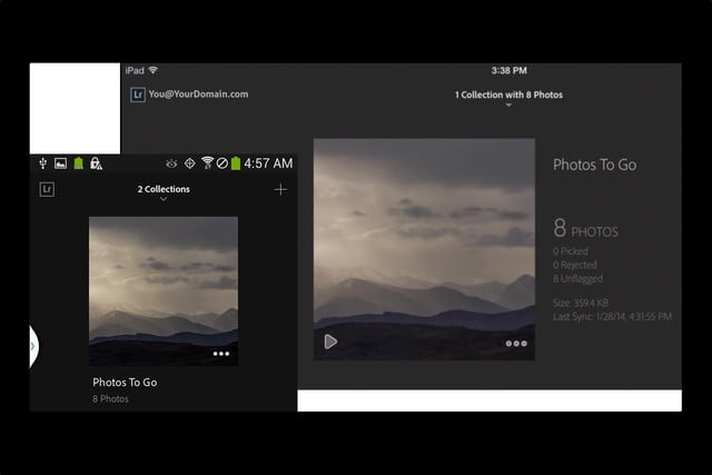 adobe lightroom mobiles photo editing tools now available android 4