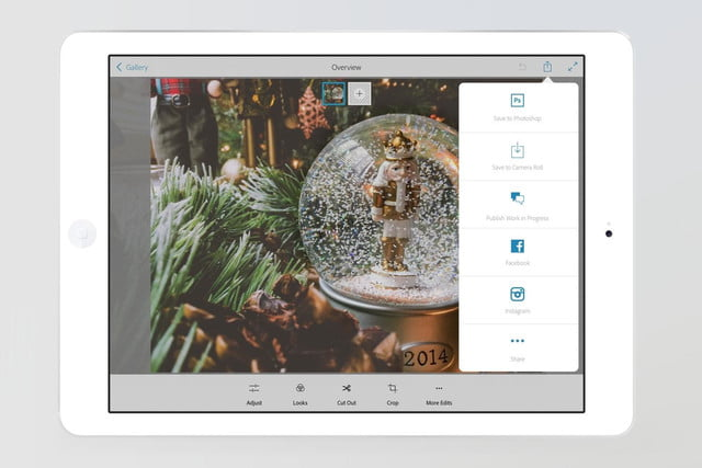 adobe updates photoshop mix ipad enhanced features faster performance sharing