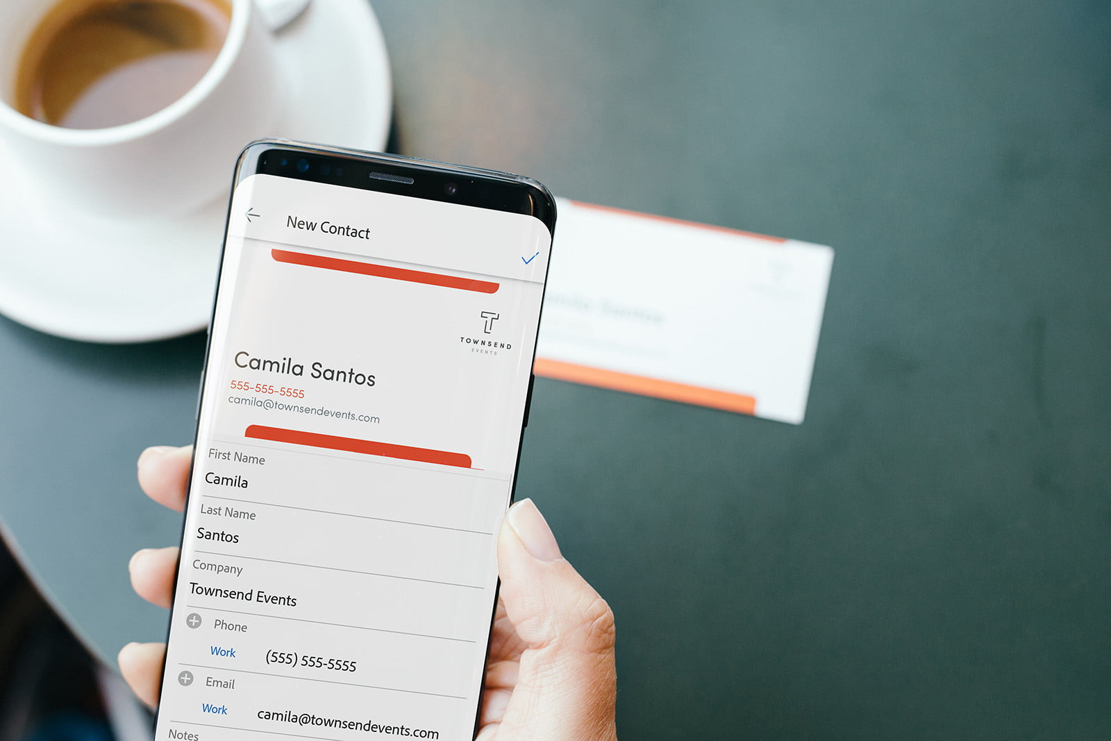 Adobe Scan now now automatically turn business cards into phone ...