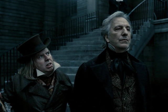 alan rickman best ten roles death sweeney todd