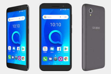 The Alcatel 1 Is a Low-powered Android Go Phone for Just $80