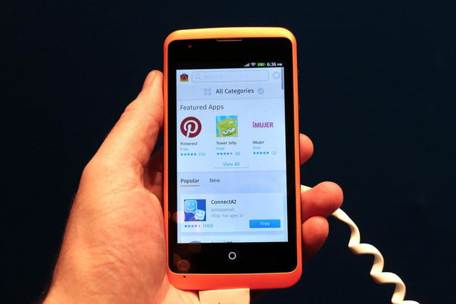 Alcatel OneTouch Fire Firefox OS featured apps