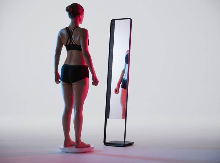 This 3D-scanning smart mirror is the world's biggest nude selfie camera