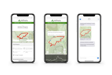 AllTrails' Lifeline Feature Will Keep You Safe in the