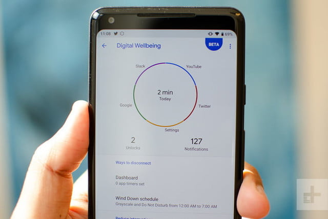 android 9 pie digital wellbeing