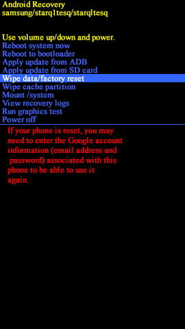 how to change android account without factory reset