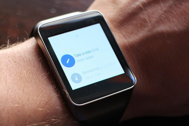 Android Wear hands on