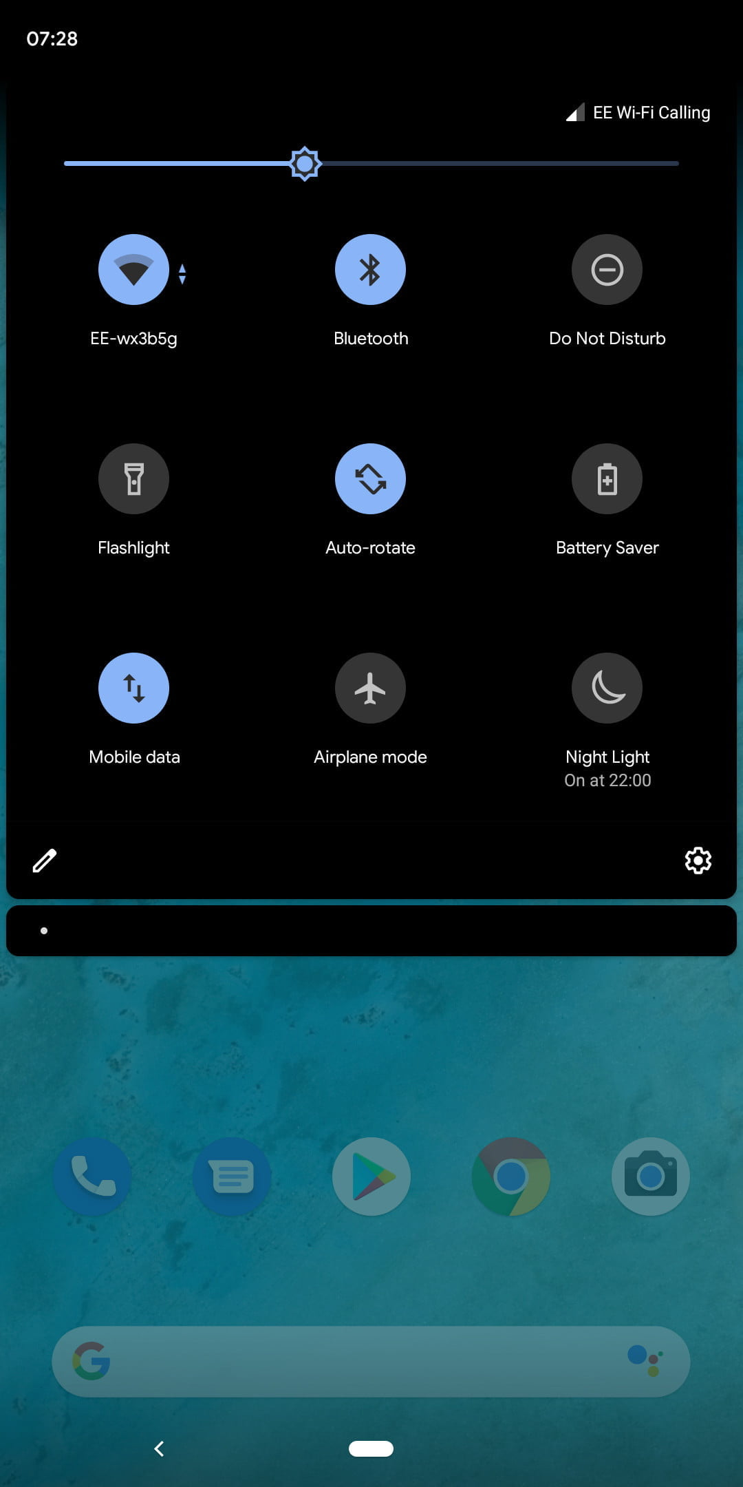 android 9 dark mode not working