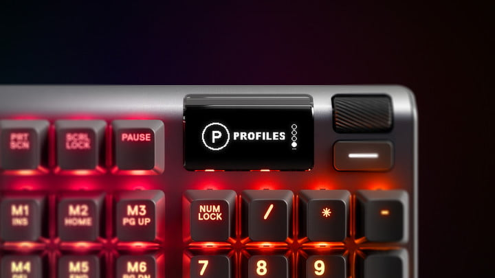 steelseries apex pro actuación ajustable con pantalla oled apexpro kv display 001