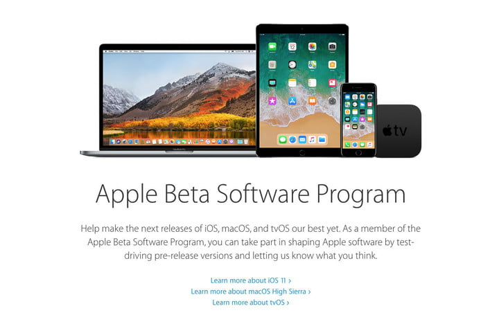 Apple Beta Screen
