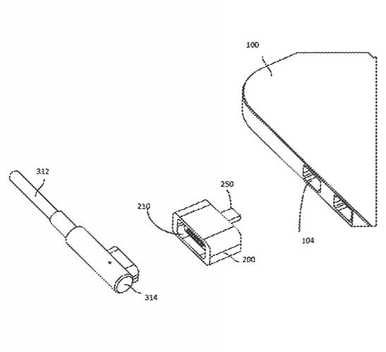 apple usb type c magsafe adapter patent uspto