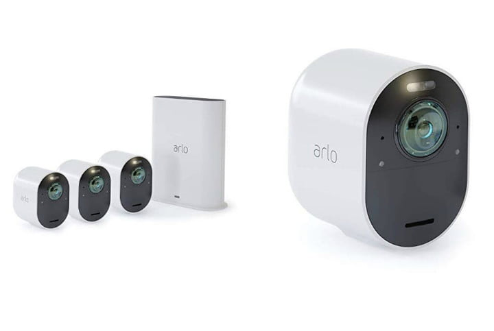 arlo ultra security camera  4k uhd wire free 4 system 750x500