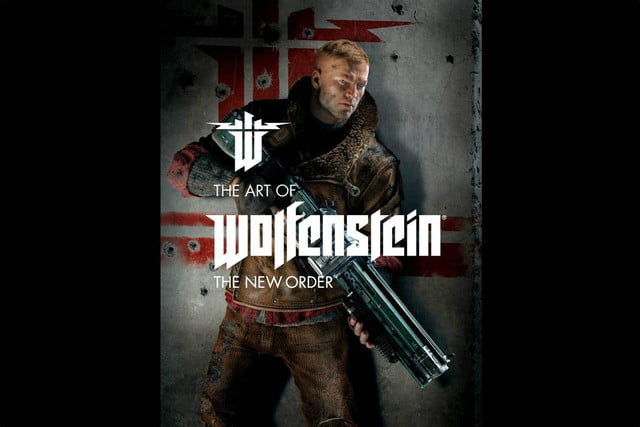 bethesda release art book coffee table companion wolfenstein new order of cover