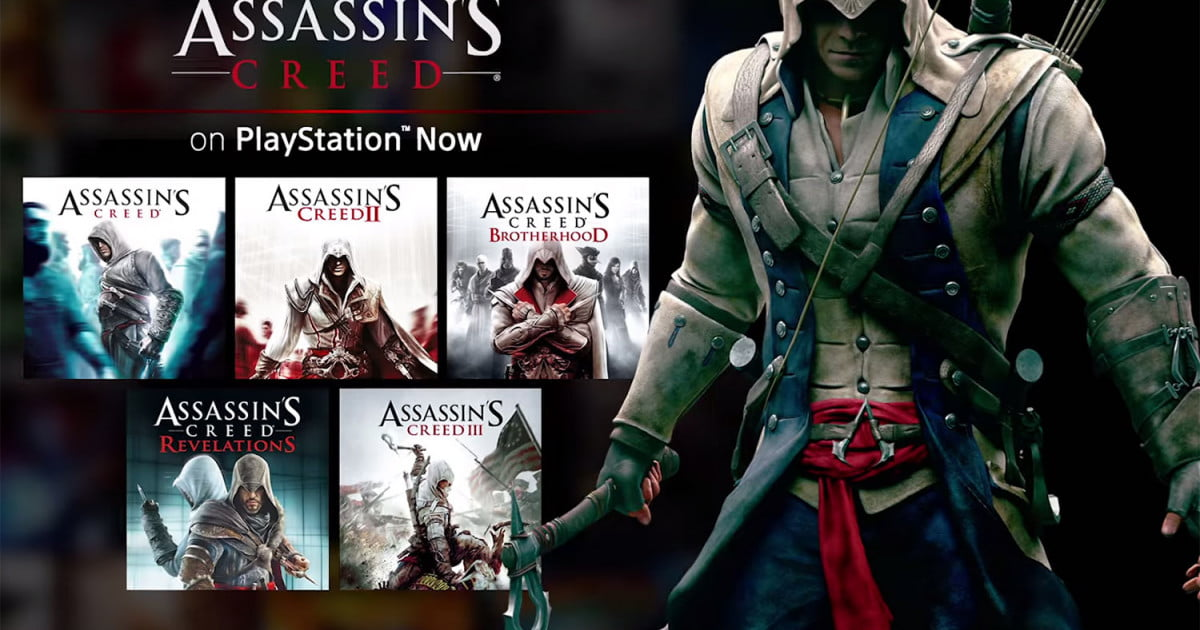 Assassin's Creed Series Comes To PlayStation Now | Digital ...