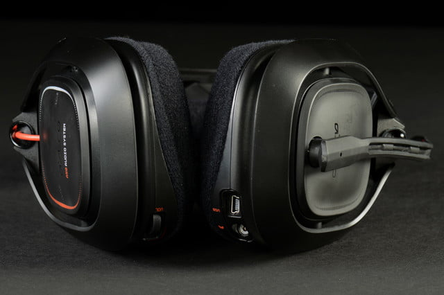 Astro A50 headset review bottom