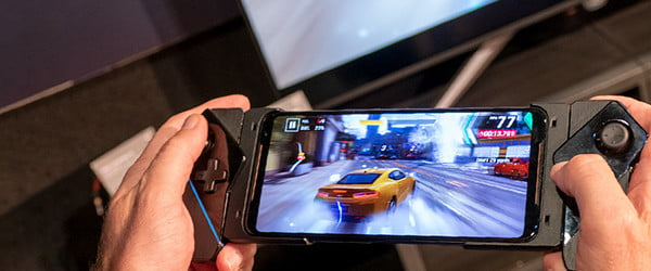 The new Asus gaming phone certainly isn't a beauty, but it performs like a beast