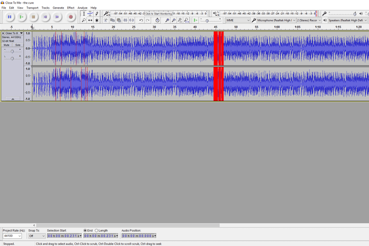 best free recording software - audacity