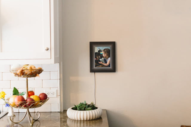 aura smart picture frame curates your photos lifestyle 0489