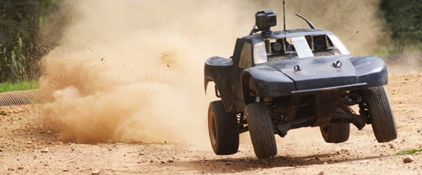 Self-driving dirt rally vehicle offers crash course in autonomous car safety