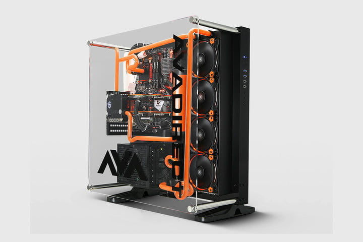 avadirect gigabyte custom gaming pc ces 2017 ava z270 scorpio header