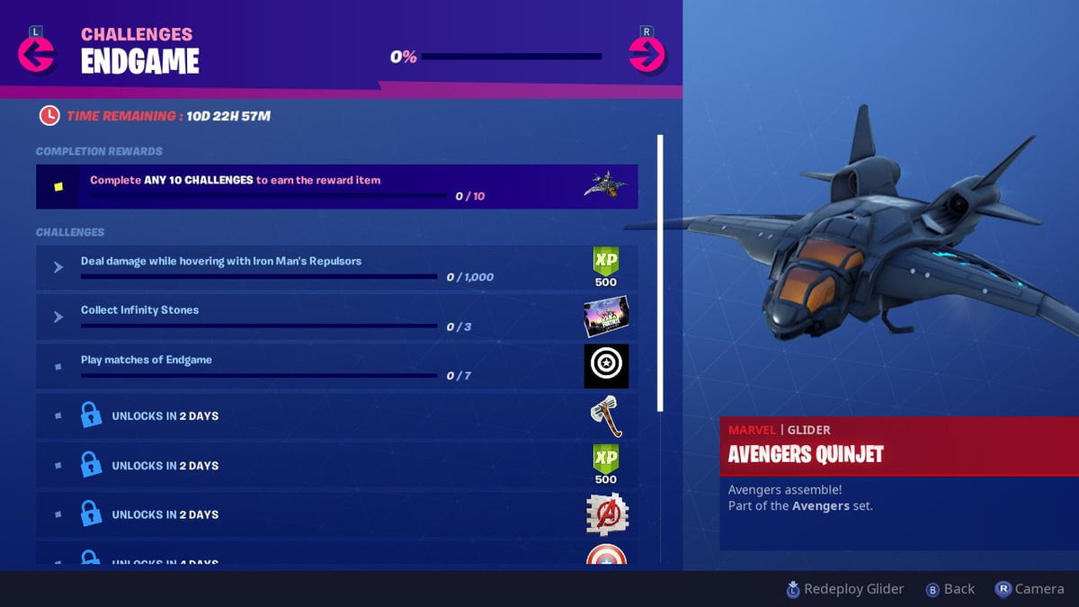 Fortnite Avengers Endgame Challenges Iron Man Repulsors And Collect Infinity Stones Digital Trends Iron man skin mark 90 flight pack making fortnite iron man a roblox account today we make the new iron man skin the. fortnite avengers endgame challenges