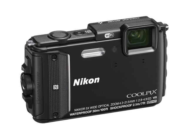 nikon unveils whopping 9 new coolpix point shoots minor updates aw130 bk front34r lo w