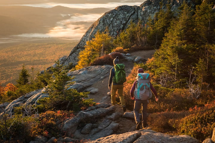 osprey exos eja backpacks backpacking  white mountains new hampshire