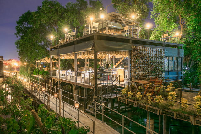 the bangkok tree house hotel lets guests sleep under stars resort 17