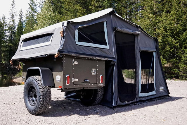 freespirit recreation journey trailer base c& basec&1 & Tent-trailer camping goes off-road with Freespiritu0027s Recreation ...