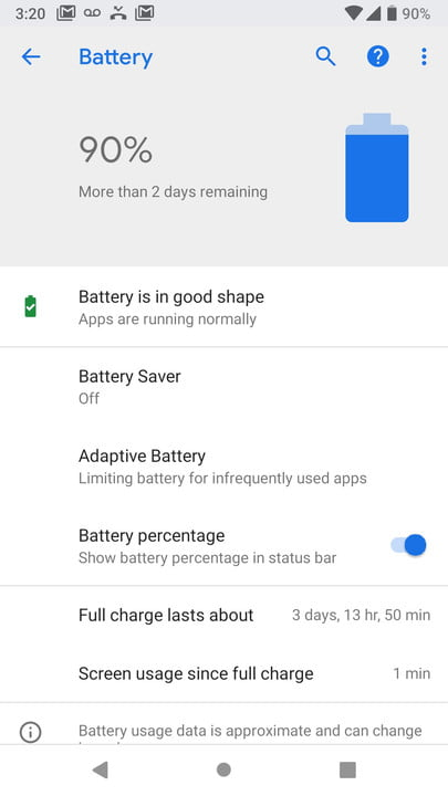 google android p news battery1