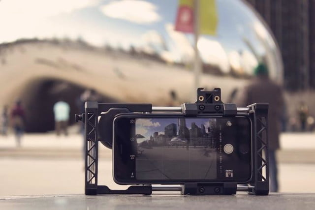 beastgrip pro rig turns regular smartphones into an interchangeable lens camera 5