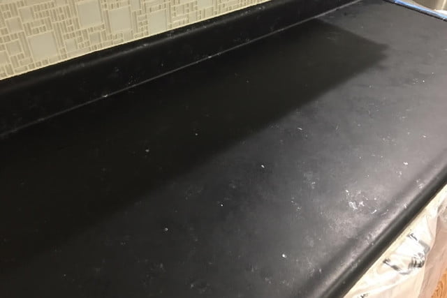 How To Diy Faux Marble Or Granite Counters For Under 100