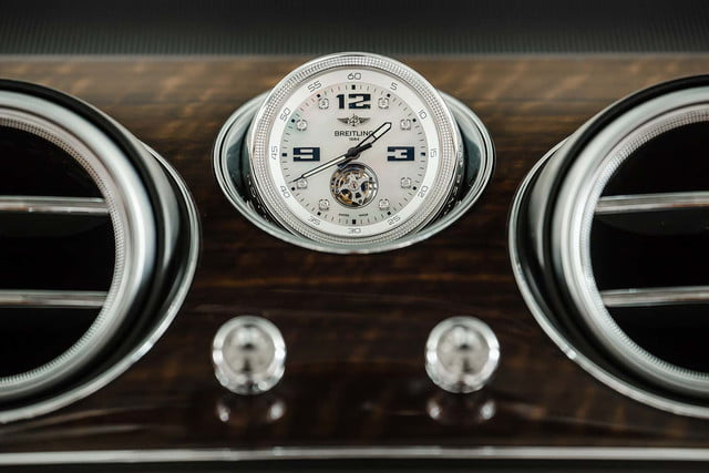 bentley says its bentayga suv can do it all but will customers bite  breitling tourbillon