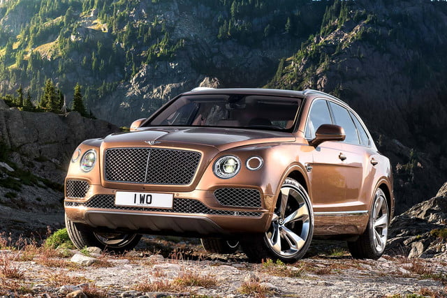 bentley says its bentayga suv can do it all but will customers bite  front three quarter static portrait