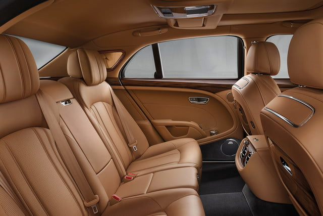 bentley engineering boss interview mulsanne rear cabin