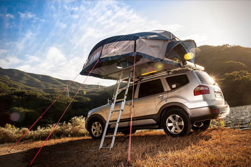 Lovely Car Camp In Style With One Of The Best Rooftop Tents Currently Available |  Digital Trends