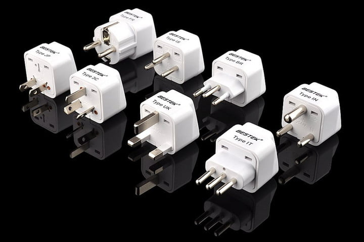 Bestek Universal Worldwide Travel Adapter Set