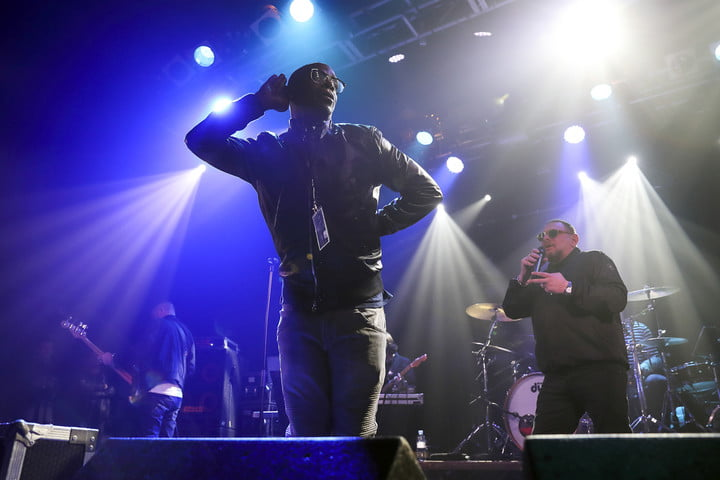 the audiophile black grape perform at electric ballroom