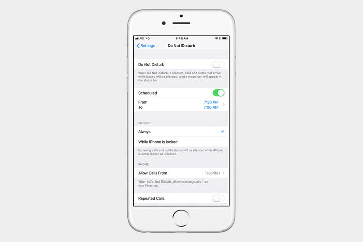How to block incoming calls in iphone 5s