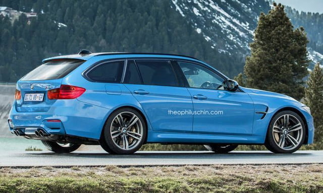 BMW M3 Touring Theophilis Chin Side