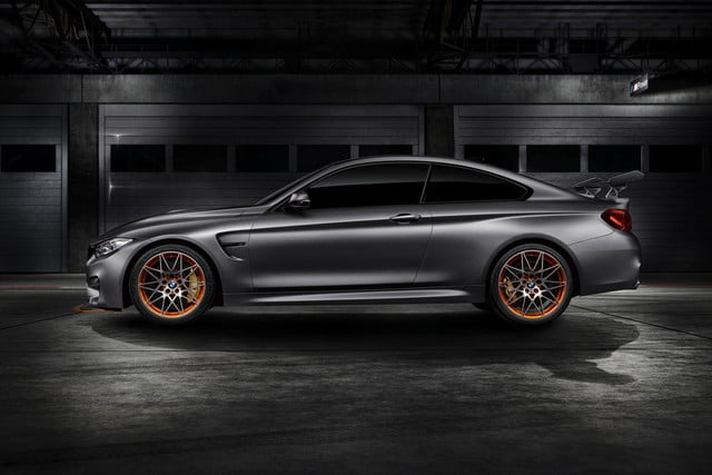 BMW M4 GTS Concept side