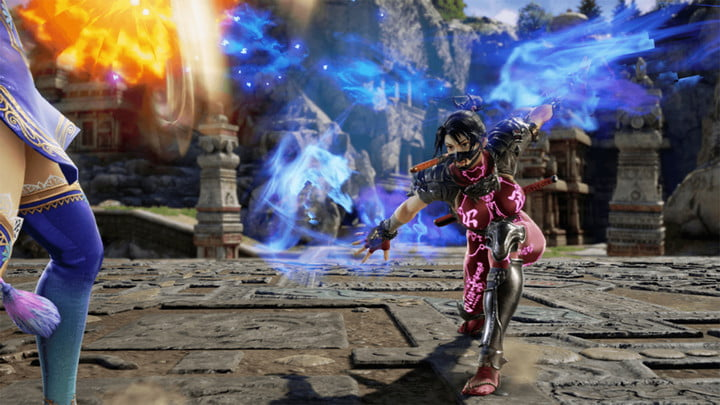 soulcalibur vi is intuitive and fun even if youve strayed from the series bnea scvi taki 2