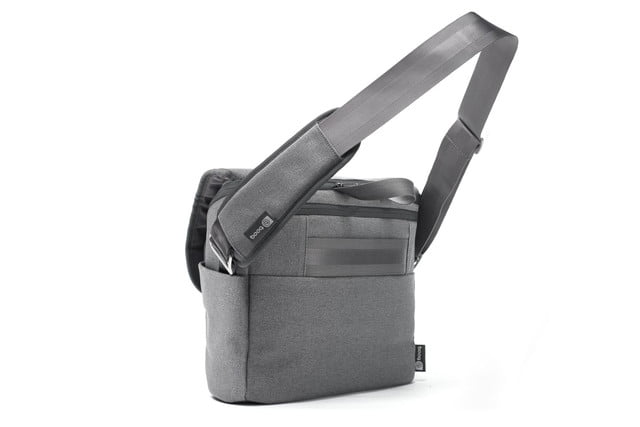 squeeze 2 dslrs and laptop into booqs python catch bag theres still room booq 15
