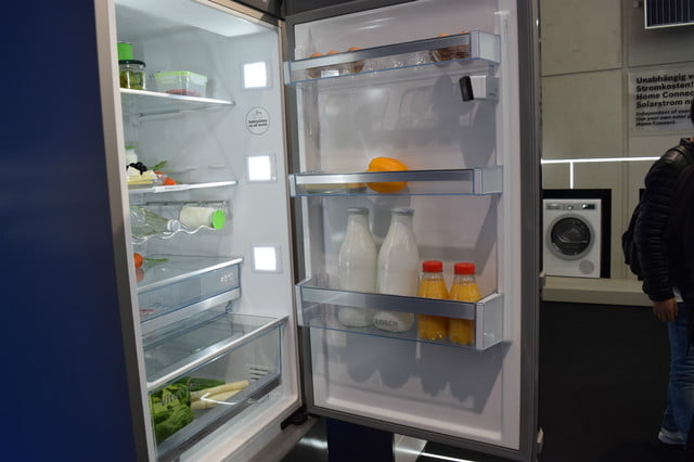 cool fridges from ifa 2015 bosch home connect camera fridge