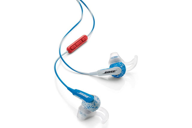 Bose Freestyle earbuds red and blue