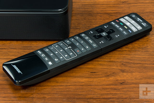 Bose SoundTouch 300 review remote on table